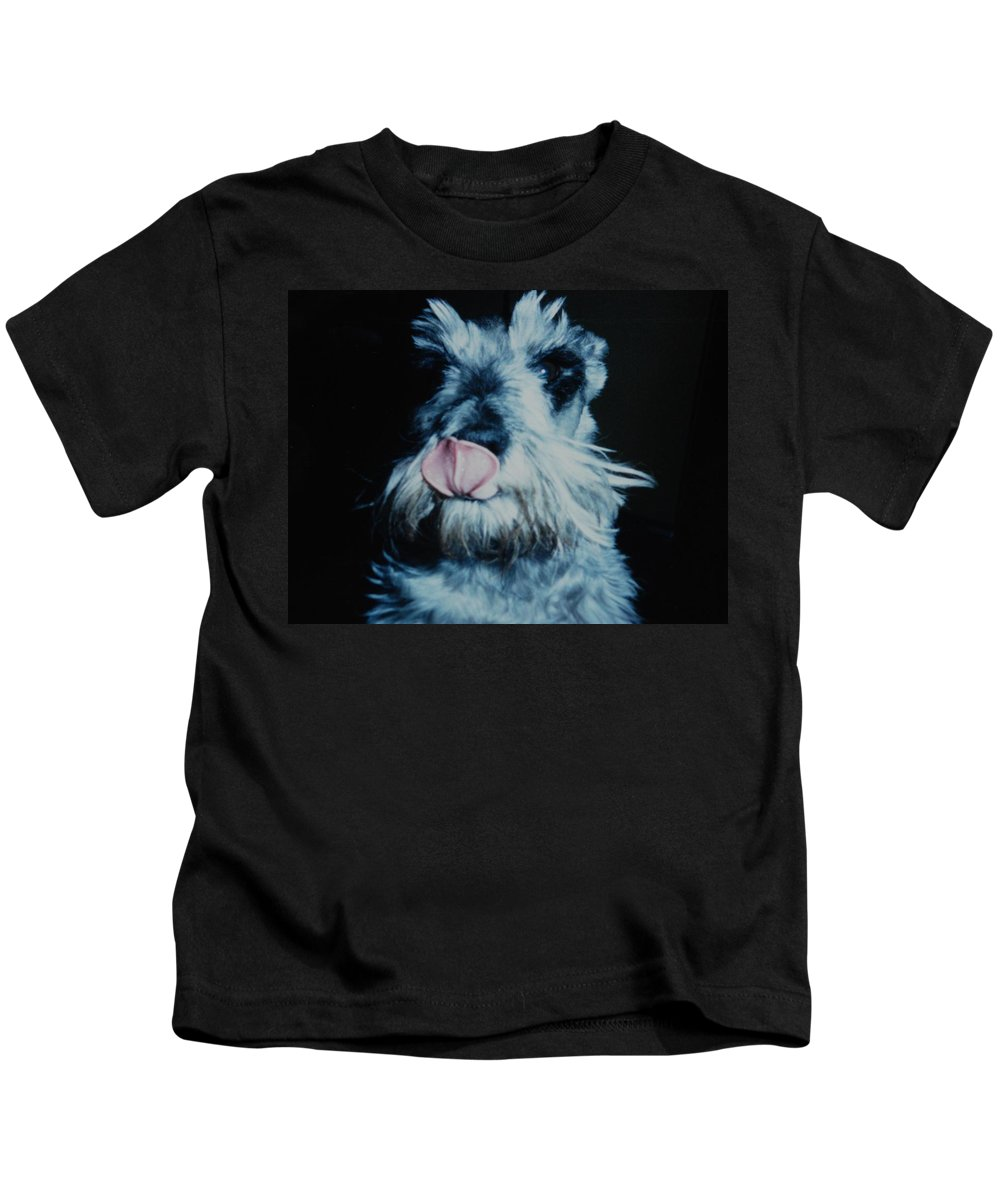 Dogs Kids T-Shirt featuring the photograph Sam The Fat Cow by Rob Hans