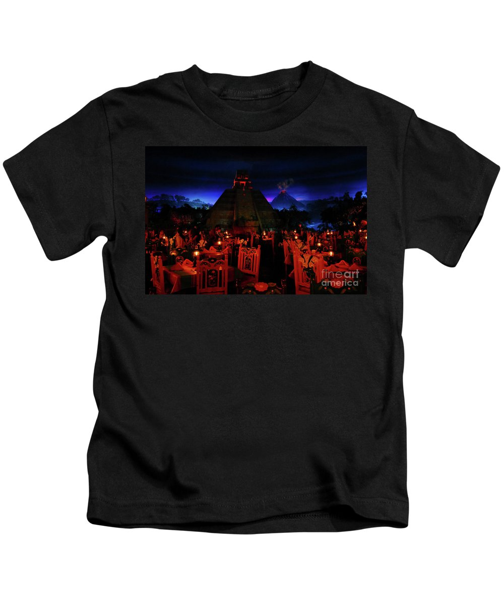 Fine Art Photography Kids T-Shirt featuring the photograph San Angel Inn Mexico by David Lee Thompson