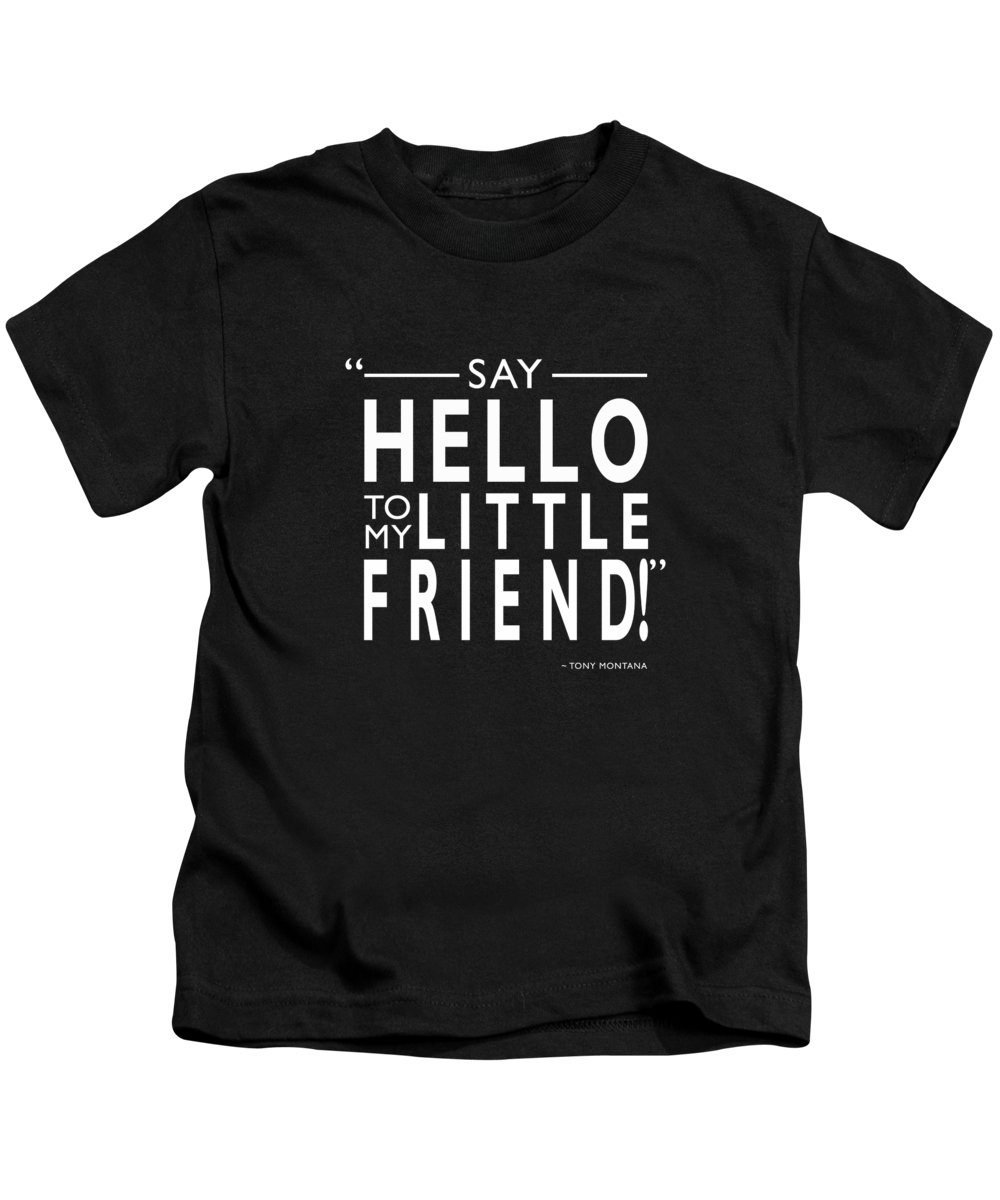 Scar Face Kids T-Shirt featuring the photograph Say Hello To My Little Friend by Mark Rogan