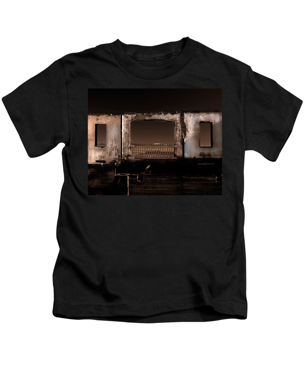 Idaho Kids T-Shirt featuring the photograph School's Out by Leland D Howard