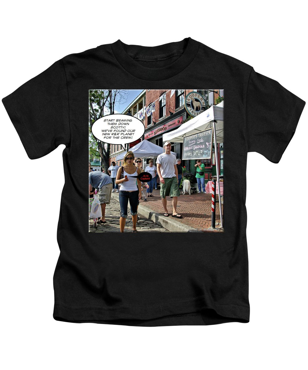 2d Kids T-Shirt featuring the photograph Scouting by Brian Wallace