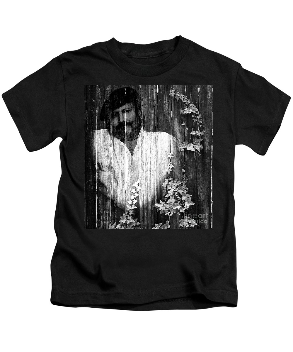 Clay Kids T-Shirt featuring the photograph Self Portrait by Clayton Bruster