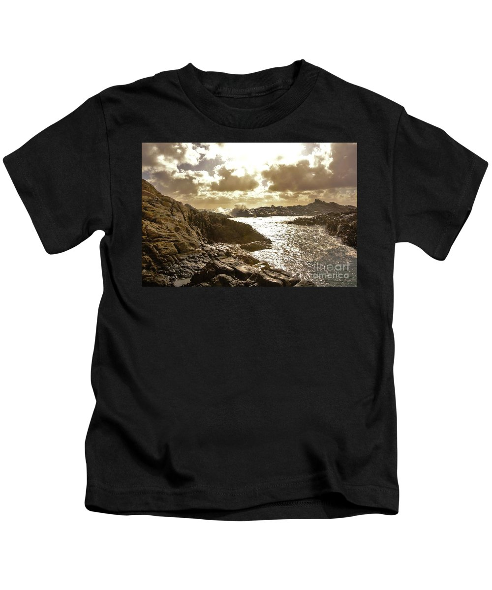 Sea Kids T-Shirt featuring the photograph September Clouds by Oscar Moreno