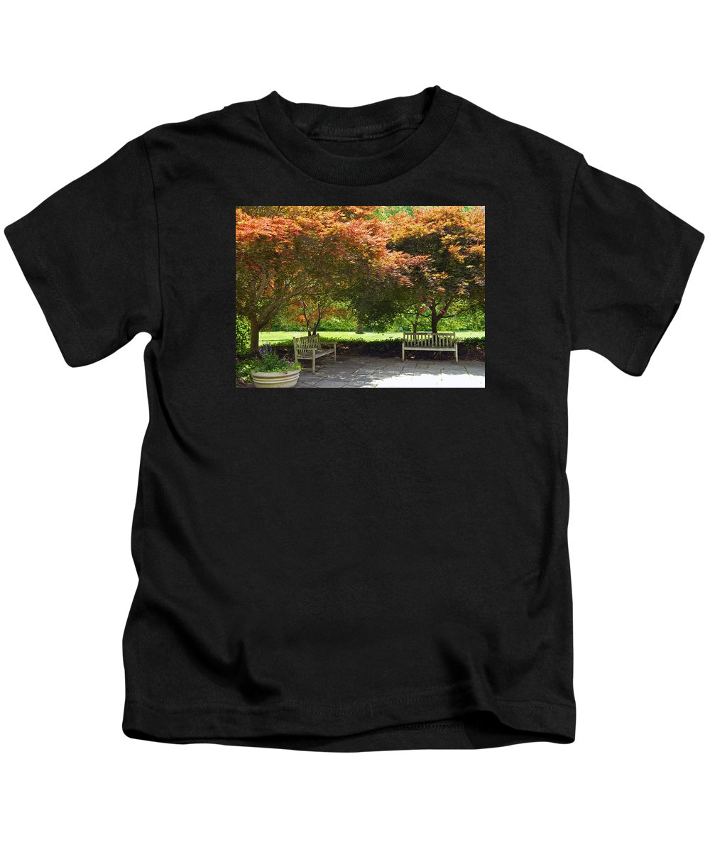 Serenity Kids T-Shirt featuring the photograph Serenity by Emmy Vickers