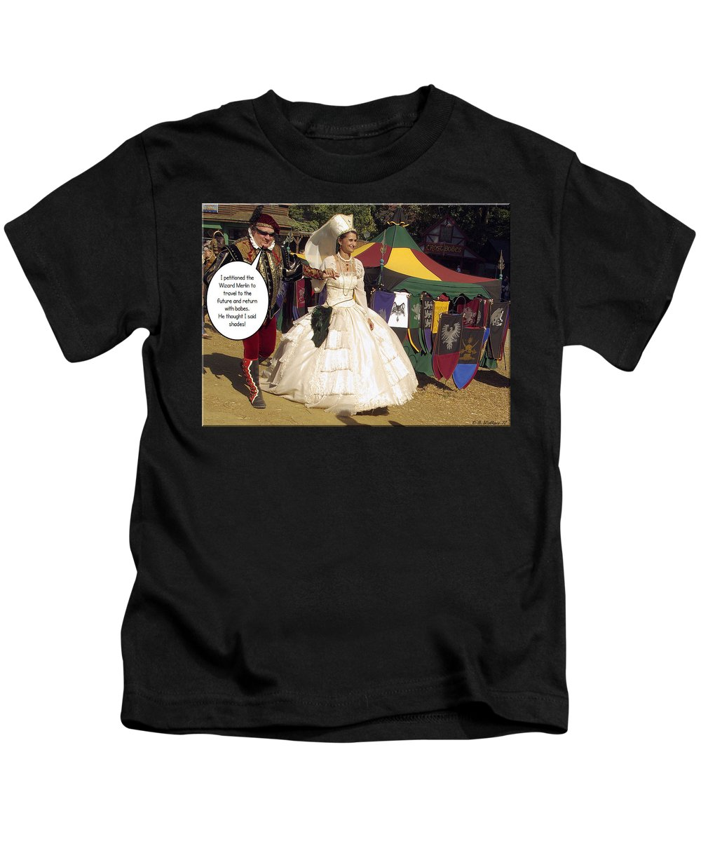 2d Kids T-Shirt featuring the photograph Shades by Brian Wallace