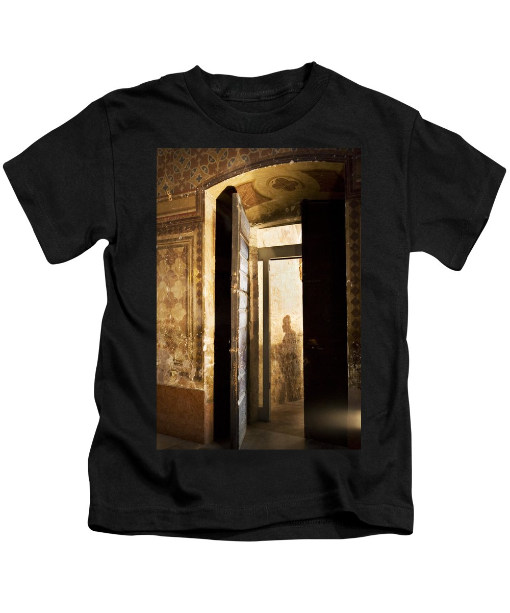 Ghost Kids T-Shirt featuring the photograph Shadow Of A Ghost by Marilyn Hunt
