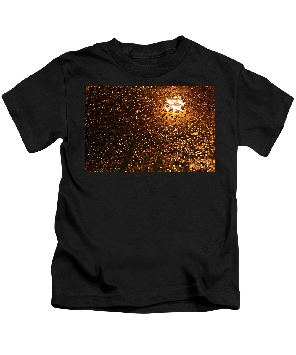 Alaska Kids T-Shirt featuring the photograph She Gracefully Surrenders by Sharon Mau