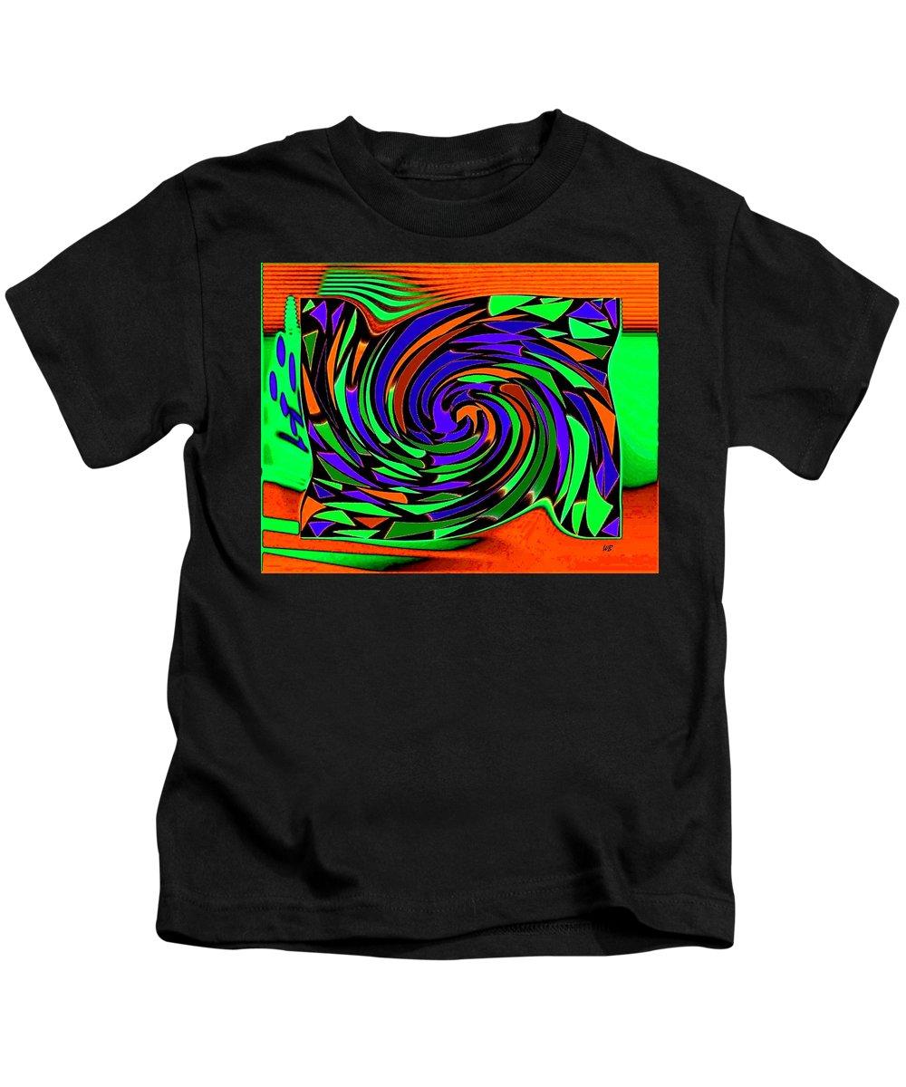Sahara Kids T-Shirt featuring the digital art Shifting Sands by Will Borden