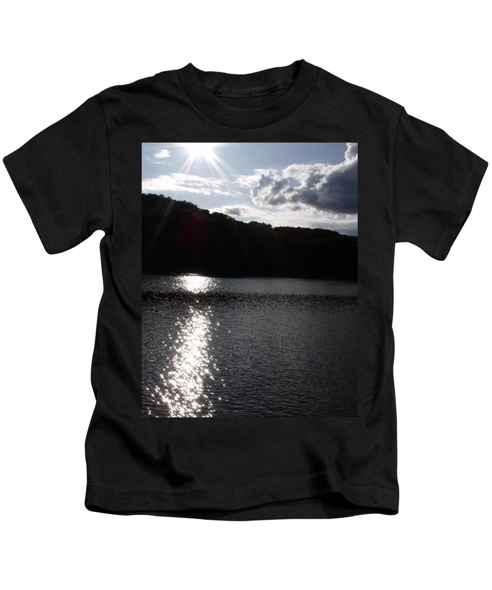 Trees Kids T-Shirt featuring the photograph Shimmer by Ed Smith