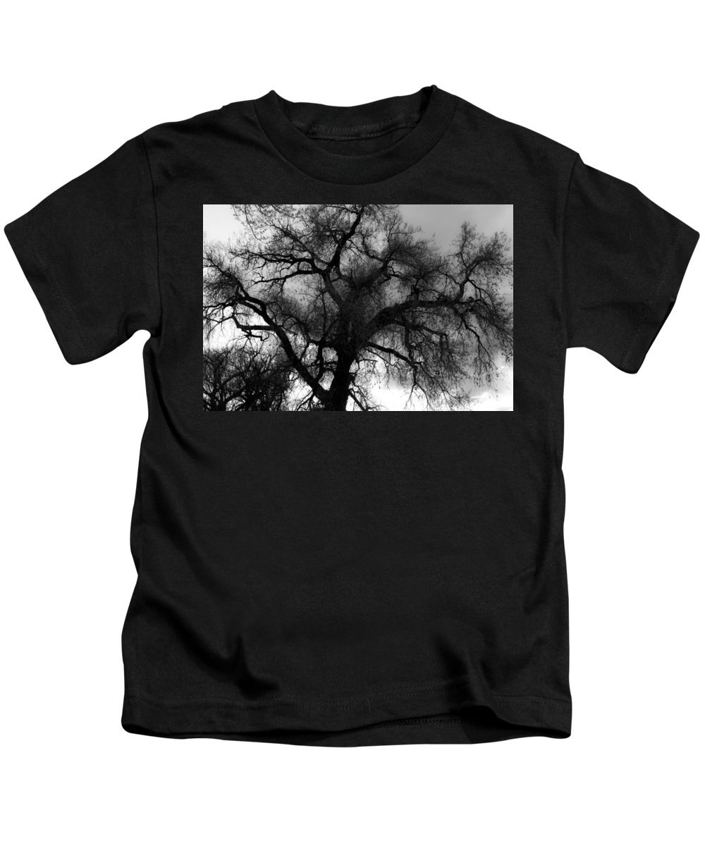 Silhouette Kids T-Shirt featuring the photograph Silhouette by James BO Insogna