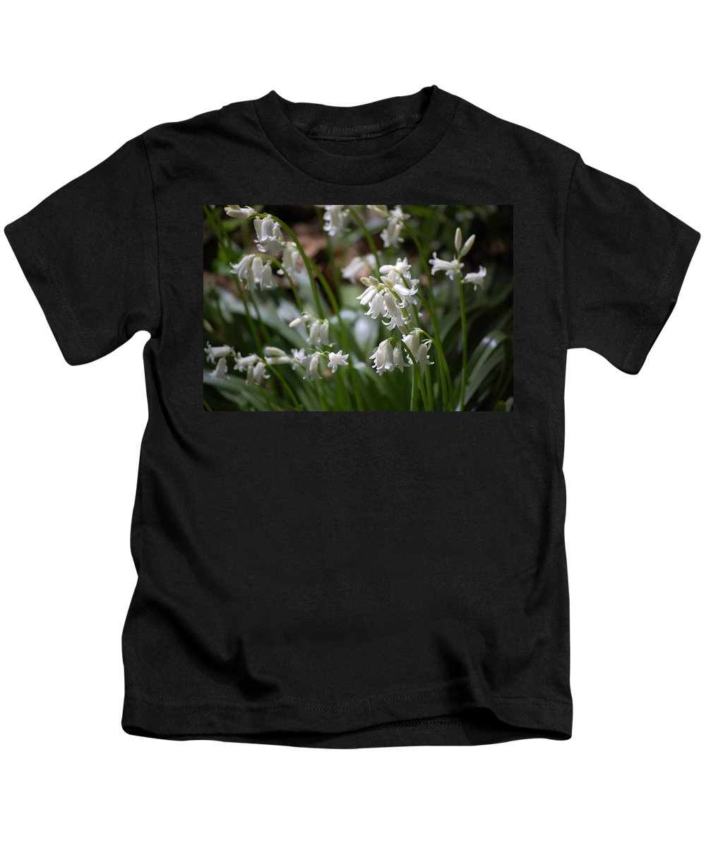 Landscape Kids T-Shirt featuring the photograph Silver Bells by David Lane