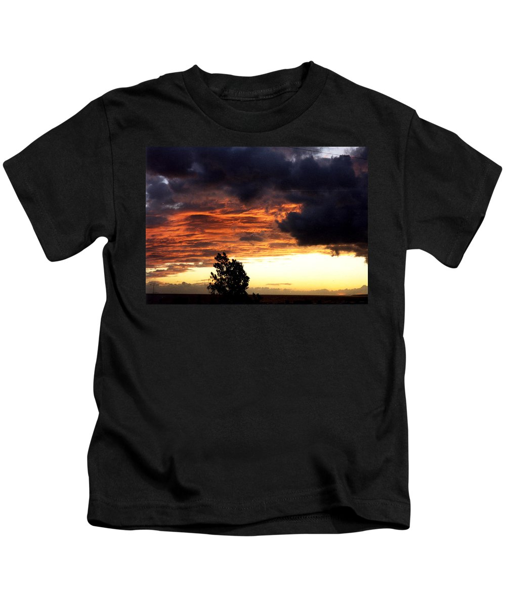 Kids T-Shirt featuring the photograph sky by Catt Kyriacou