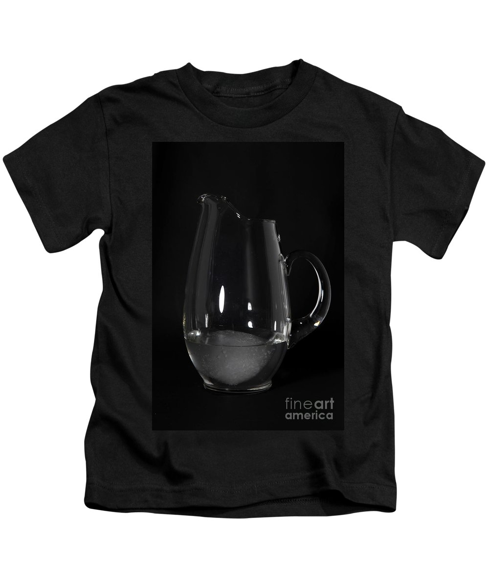 Snow Kids T-Shirt featuring the photograph Snow Melting 7 Of 8 by Ted Kinsman