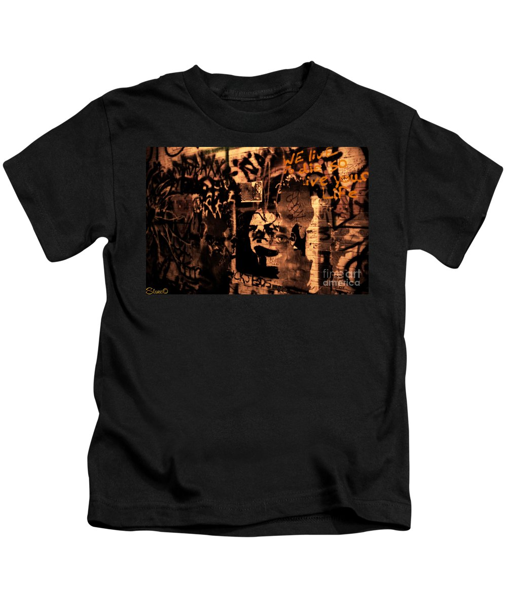Ann Arbor Kids T-Shirt featuring the photograph So Live Your Life by September Stone