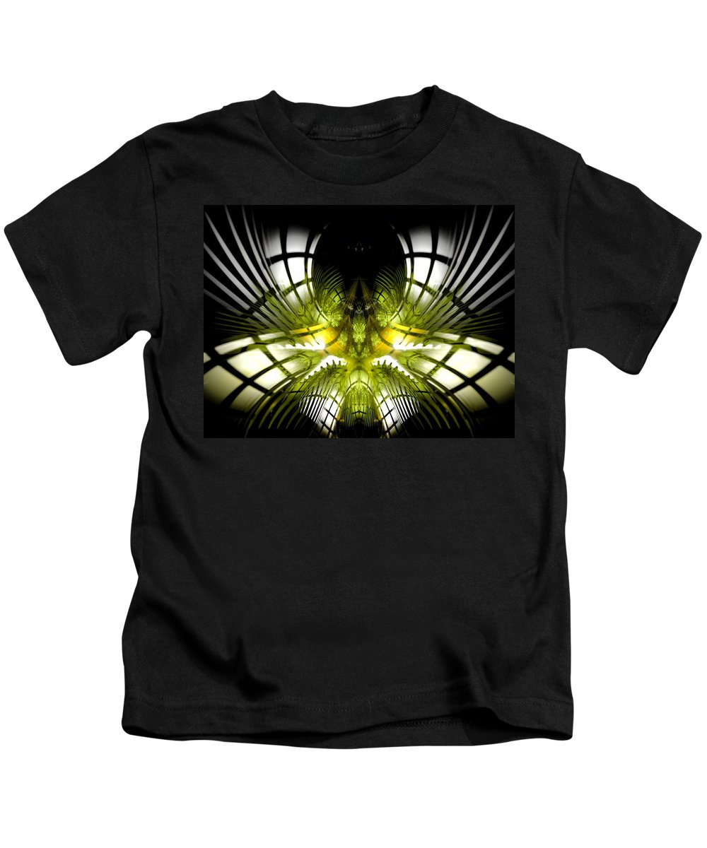 Fractal Kids T-Shirt featuring the digital art Solar Greenhouse by Amorina Ashton