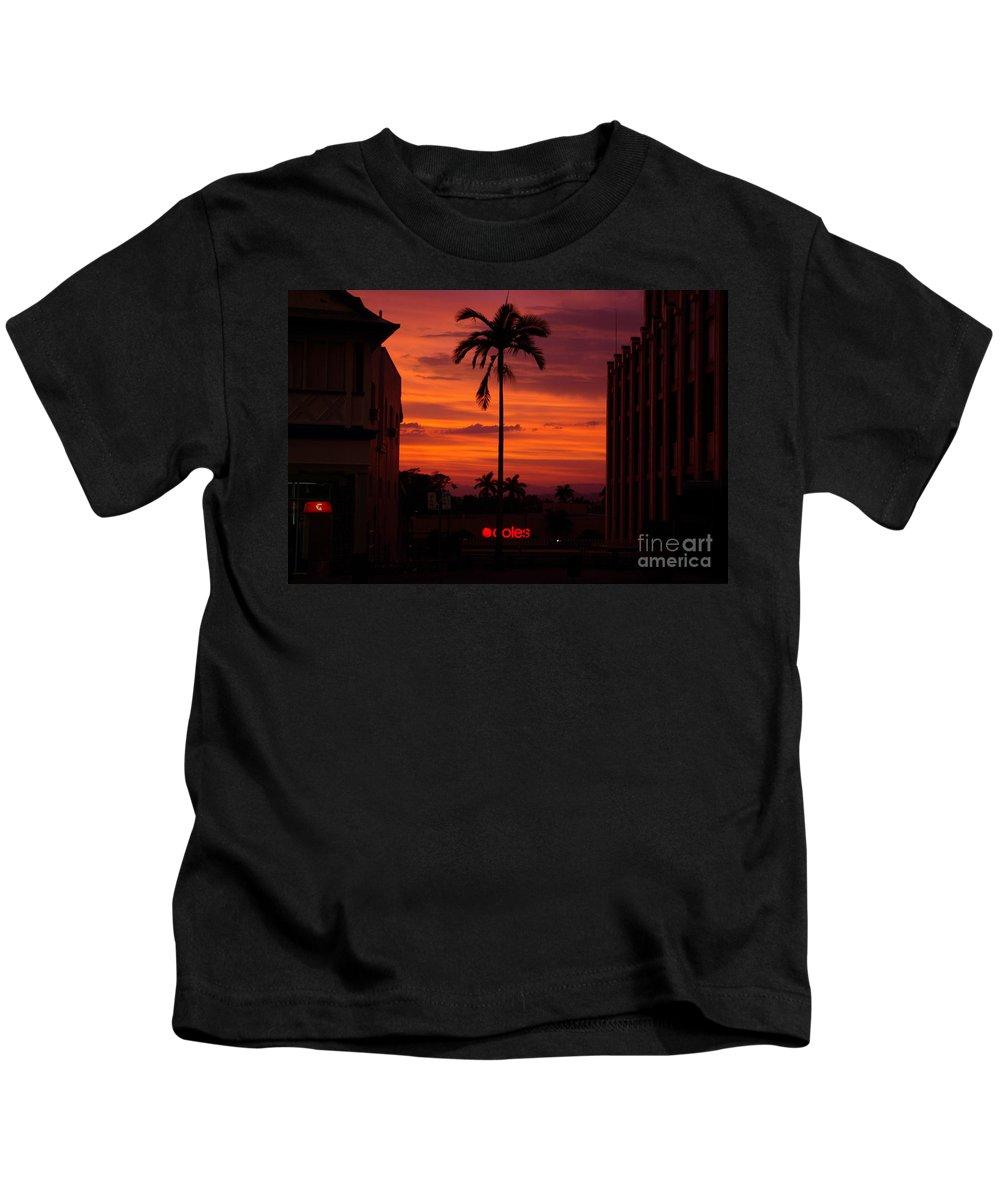 Innisfail Kids T-Shirt featuring the photograph Solitary Passage by Kerryn Madsen- Pietsch