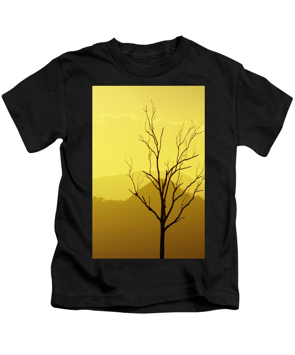 Landscape Kids T-Shirt featuring the photograph Solitude by Holly Kempe