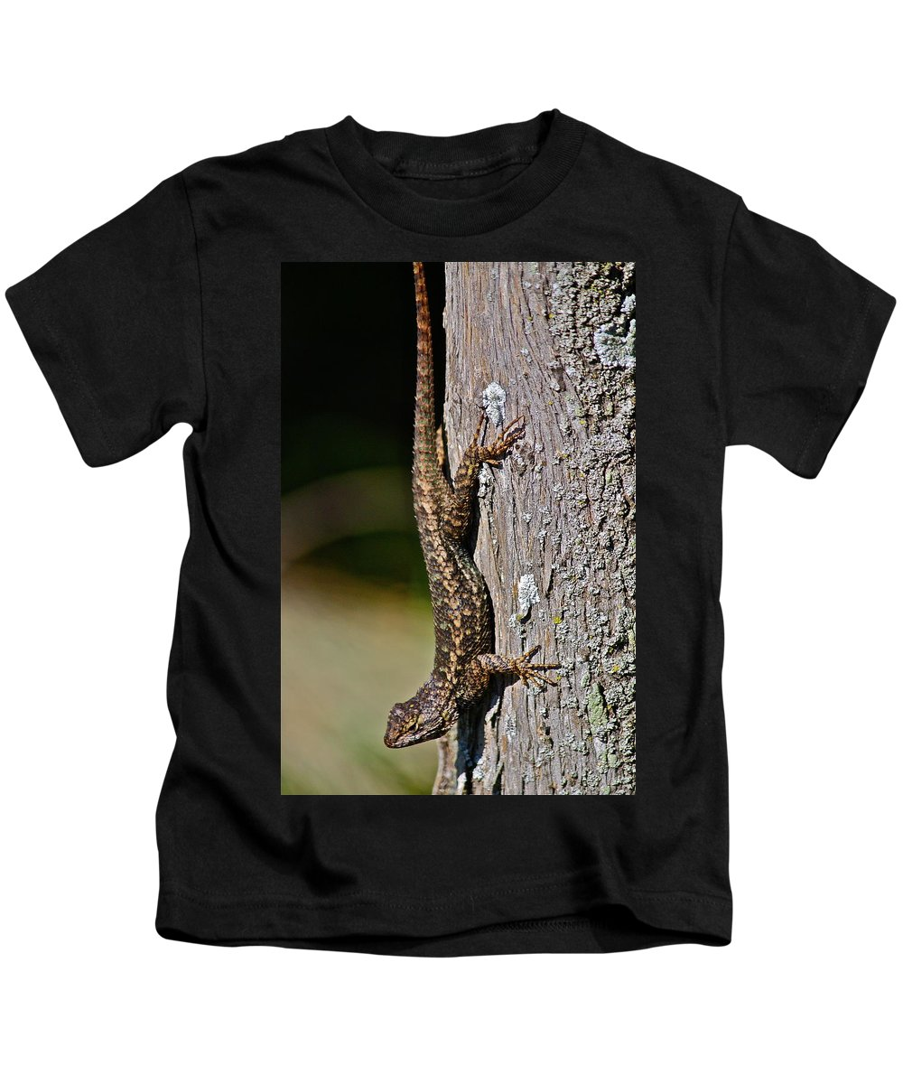 Reptile Kids T-Shirt featuring the photograph Some Call It Creepy by Diana Hatcher