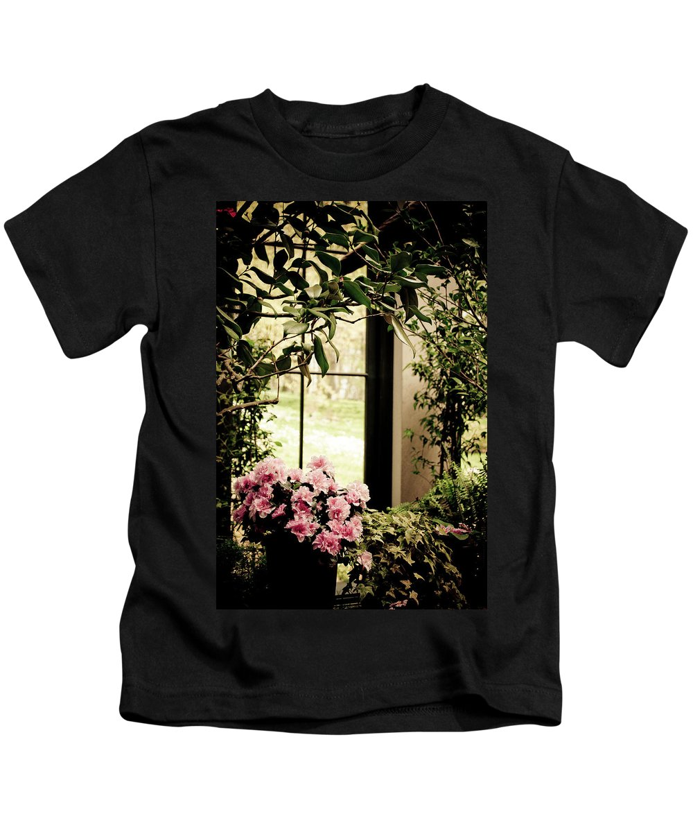 Flower Kids T-Shirt featuring the photograph Someone Brought Me Flowers by Trish Tritz