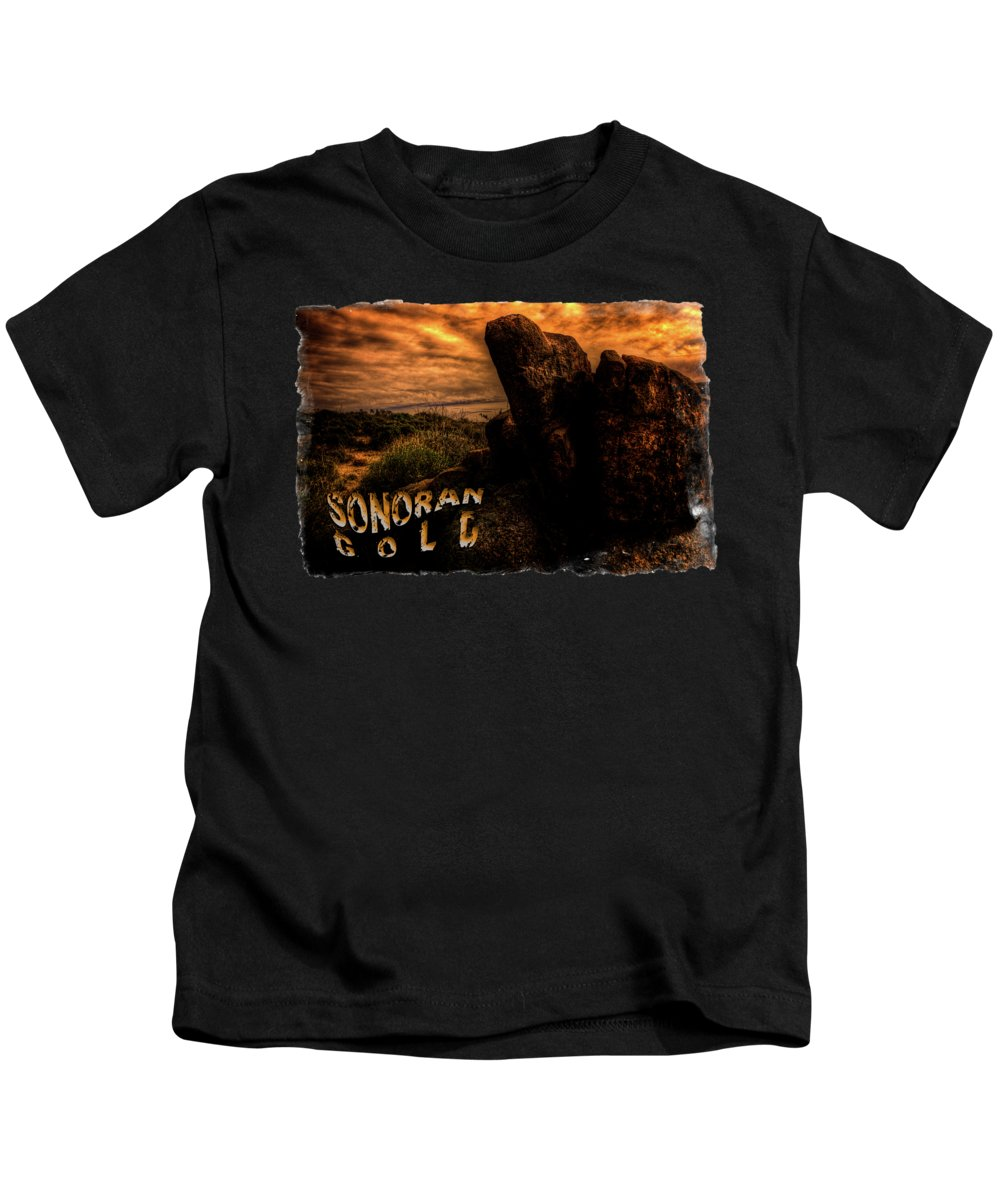 Arizona Kids T-Shirt featuring the photograph Sonoran Desert Early Morning by Roger Passman
