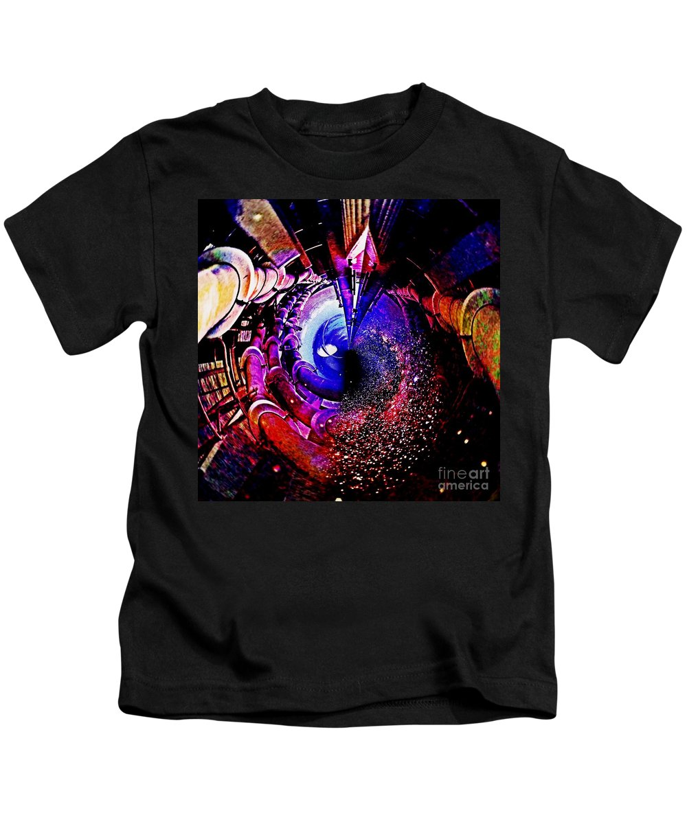 Blair Stuart Kids T-Shirt featuring the photograph Space In Another Dimension by Blair Stuart