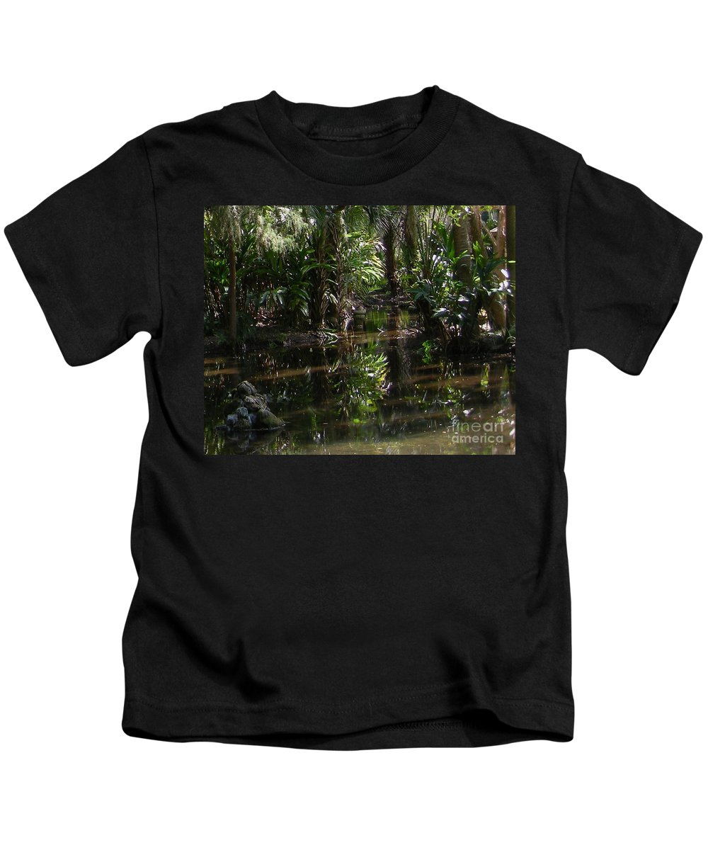 Swamp Kids T-Shirt featuring the photograph Sparkling Swamp by Ze DaLuz