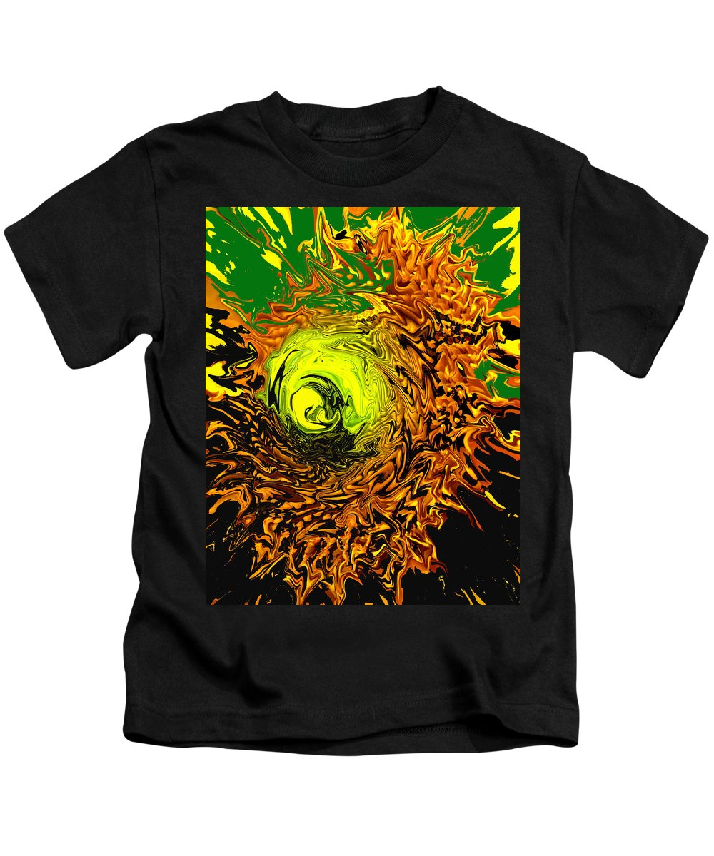 Abstract Kids T-Shirt featuring the digital art Special by Ian MacDonald