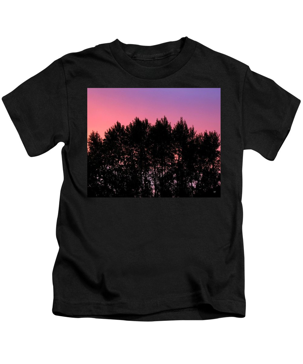 Silhouette Kids T-Shirt featuring the photograph Spectacular Silhouette by Will Borden