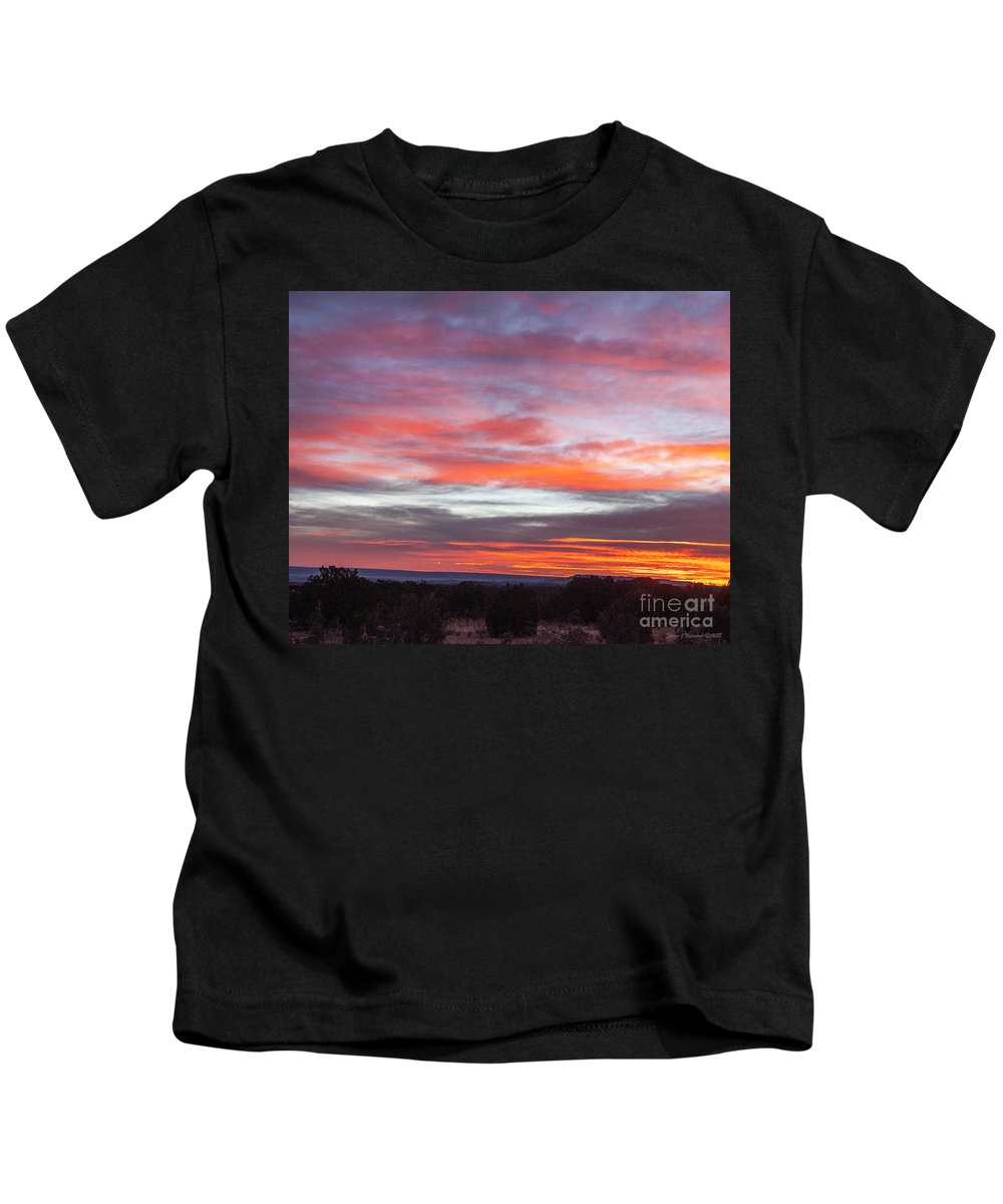 Natanson Kids T-Shirt featuring the photograph Splashes Of Color by Steven Natanson
