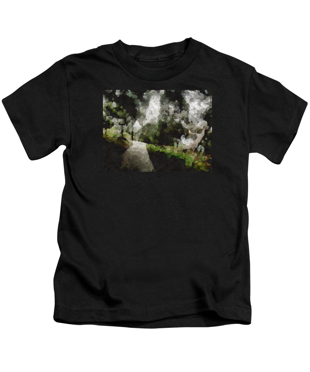 Dark Kids T-Shirt featuring the photograph Spot Light On A Fight On A Lone Path by Ashish Agarwal