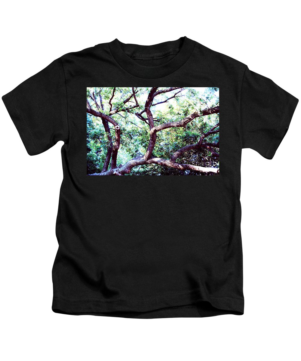 Tree Kids T-Shirt featuring the photograph Sprawling by Jamie Lynn