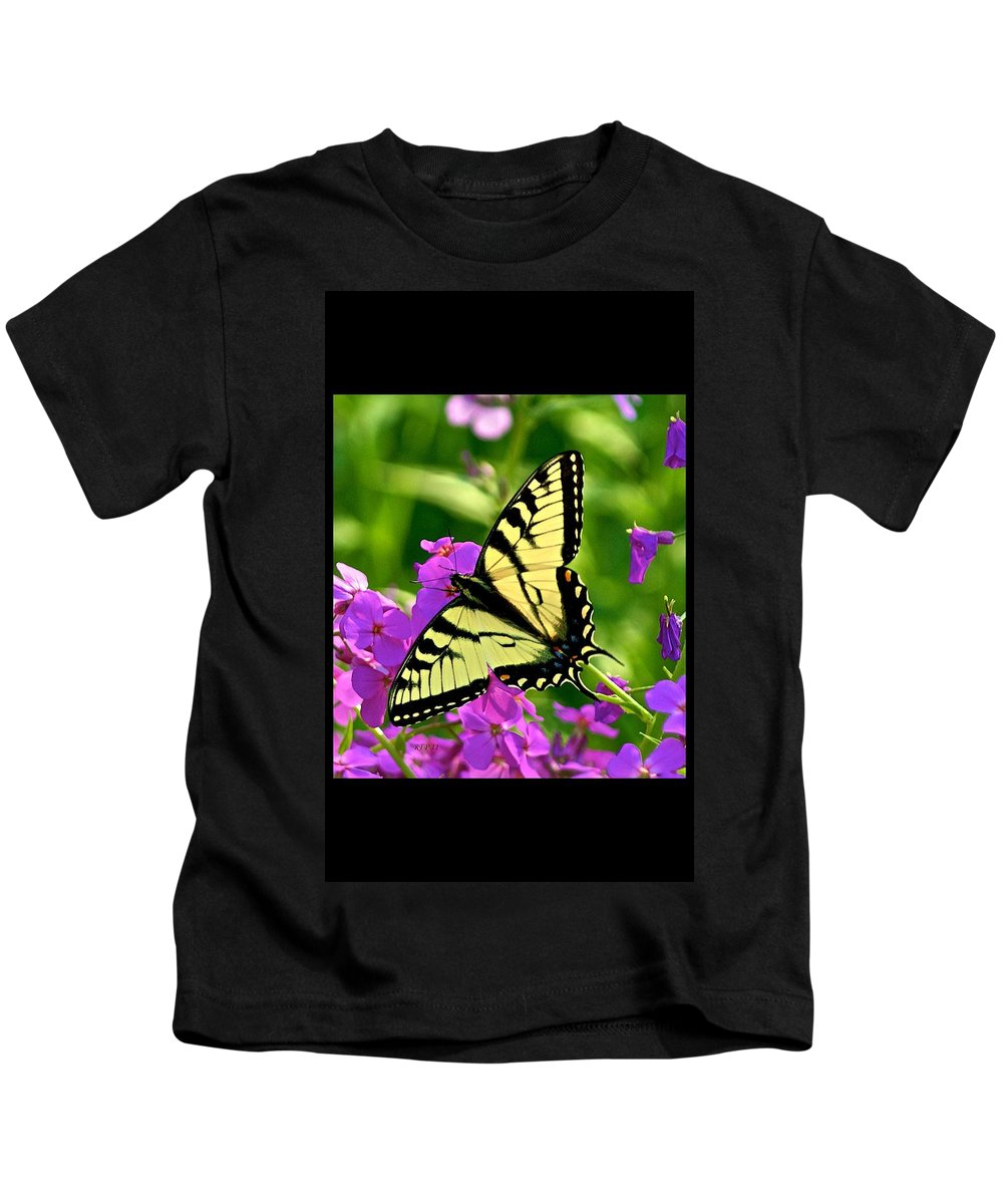 Butterfly Kids T-Shirt featuring the photograph Spring Glory by Robert Pearson