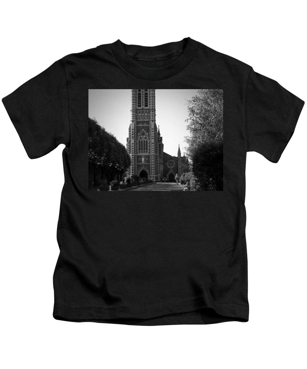 Irish Kids T-Shirt featuring the photograph St. John's Church Tralee Ireland by Teresa Mucha