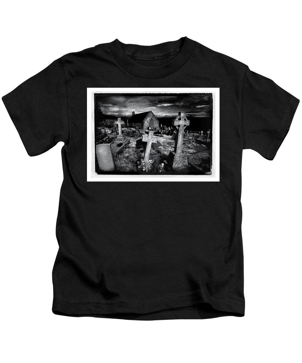 Church Kids T-Shirt featuring the photograph St Tudno's Church by Mal Bray