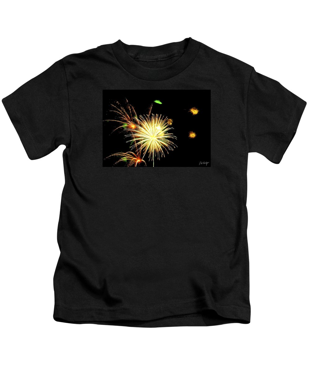 July 4th Kids T-Shirt featuring the photograph Star Wars by Phill Doherty