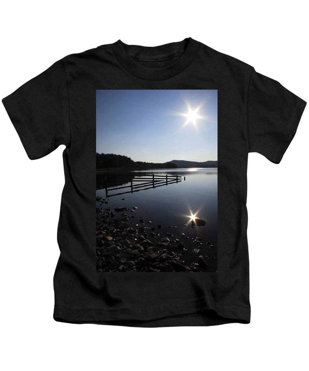 Sun Kids T-Shirt featuring the photograph Starburst by Phil Crean