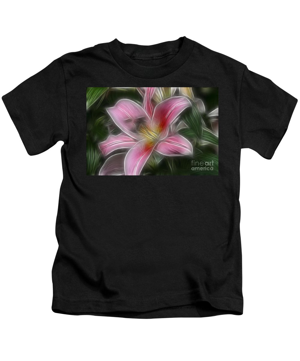 Flower Kids T-Shirt featuring the photograph Starlight by Deborah Benoit