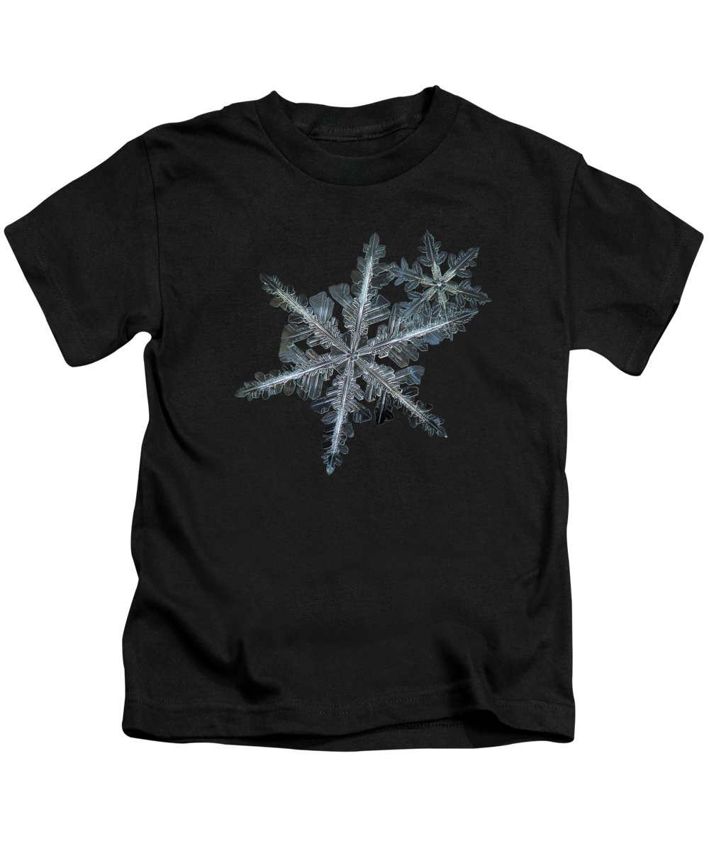 Snowflake Kids T-Shirt featuring the photograph Stars In My Pocket Like Grains Of Sand by Alexey Kljatov