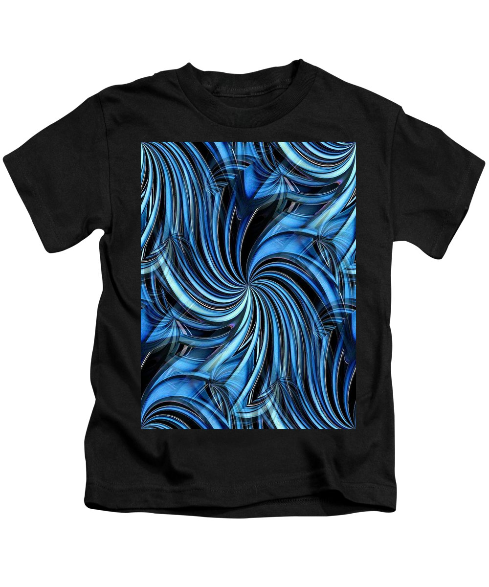Seattle Kids T-Shirt featuring the photograph Steel Whirlpool by Tim Allen