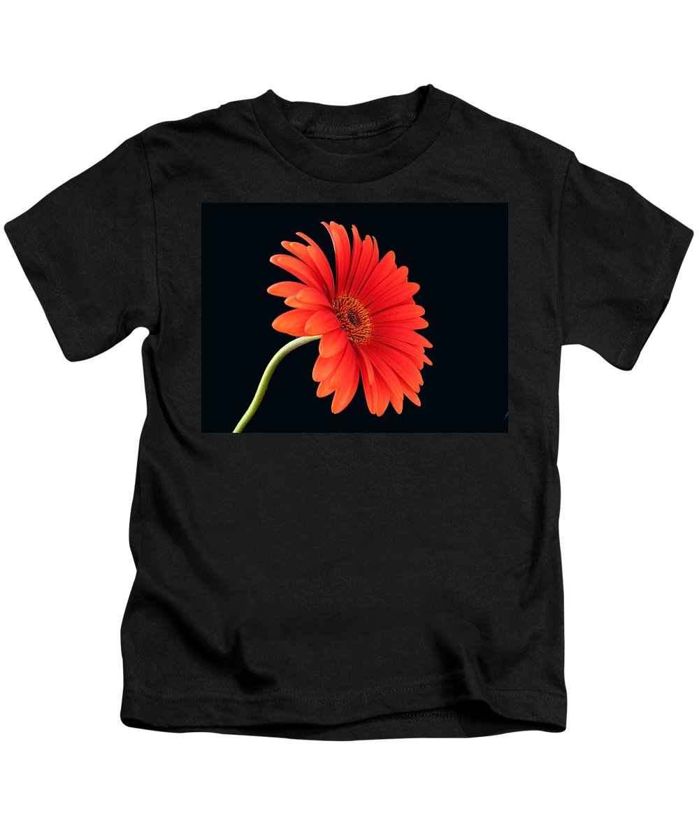 Flower Kids T-Shirt featuring the photograph Stemming Beauty by Carol Milisen