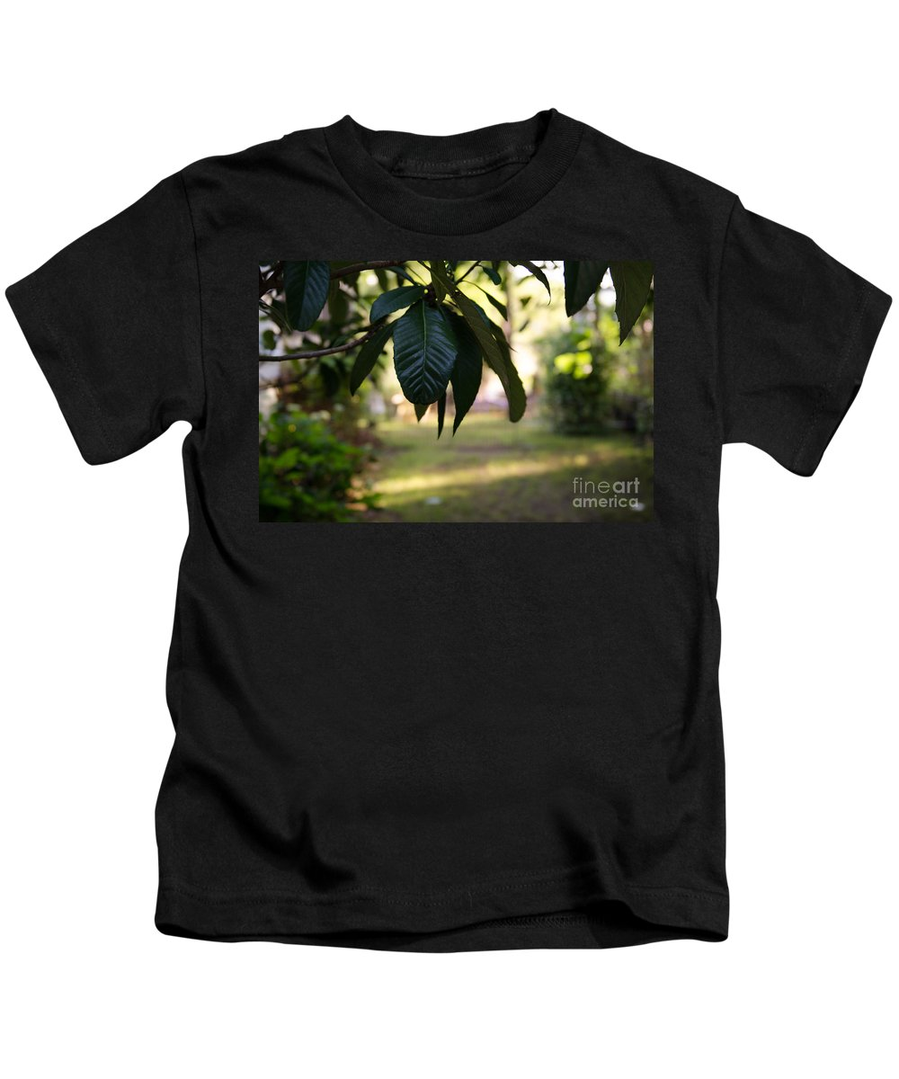 Garden Kids T-Shirt featuring the photograph Step Into The Garden by Dale Powell