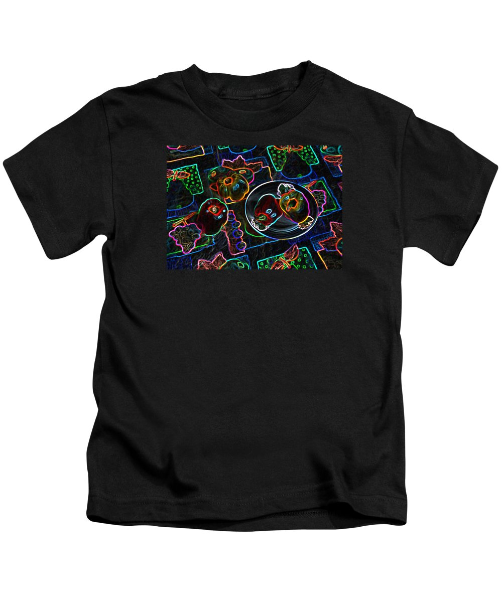 Still Life Kids T-Shirt featuring the digital art Still Life D by Iliyan Bozhanov