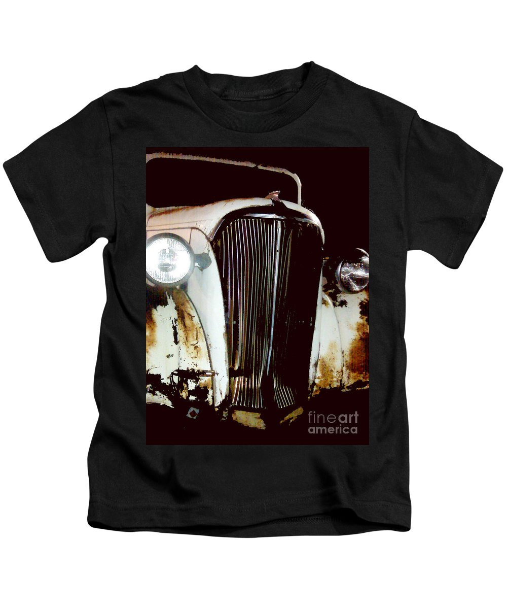 Trucks Kids T-Shirt featuring the photograph Still Truckin by Amanda Barcon