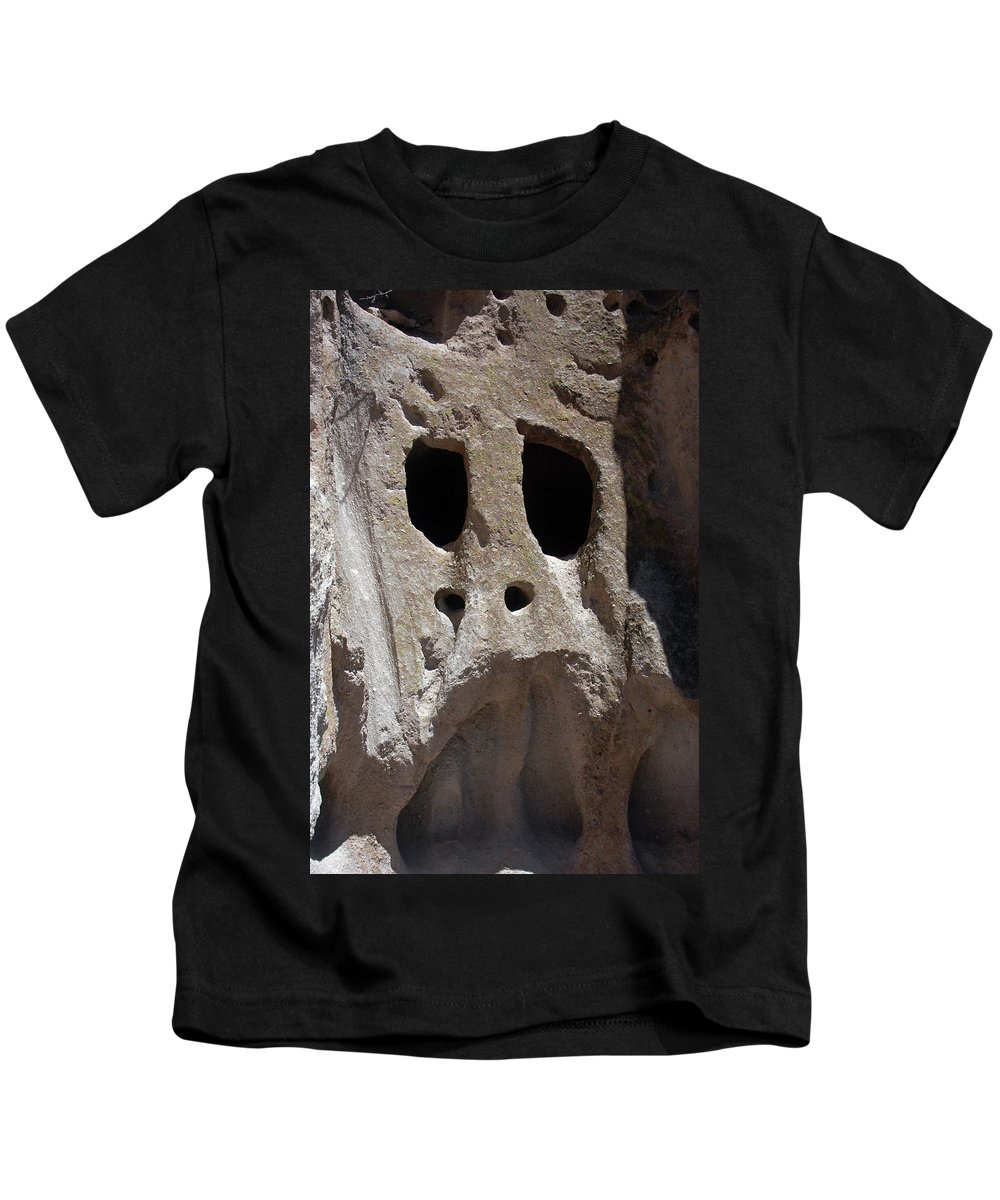 Stone Kids T-Shirt featuring the photograph Stone Ghoul by Alynne Landers