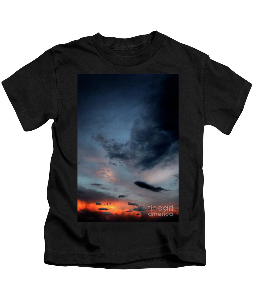 Clouds And Sky Kids T-Shirt featuring the photograph Storm Cloud by Timothy Sanford