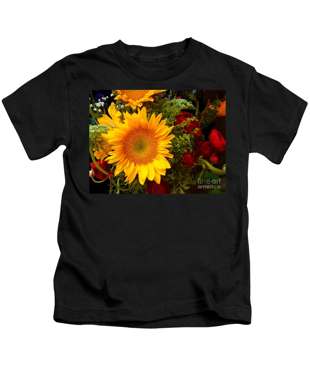 Sunflower Kids T-Shirt featuring the photograph Straight No Chaser by RC DeWinter