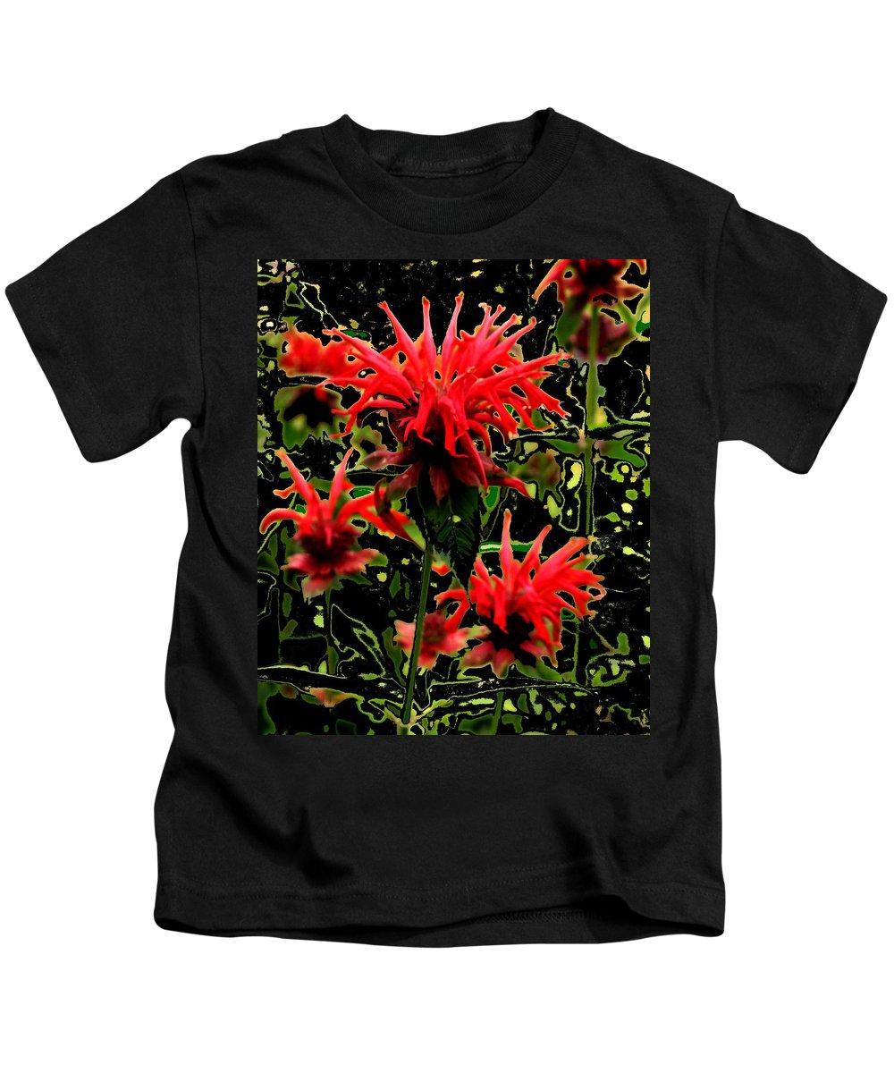 Abstract Kids T-Shirt featuring the photograph Strange Garden by Ian MacDonald
