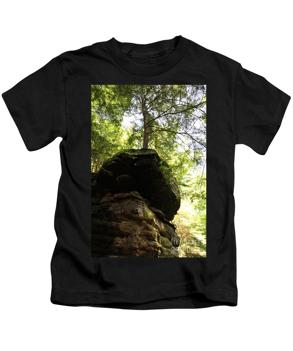 Tree Kids T-Shirt featuring the photograph Strength by Amanda Barcon
