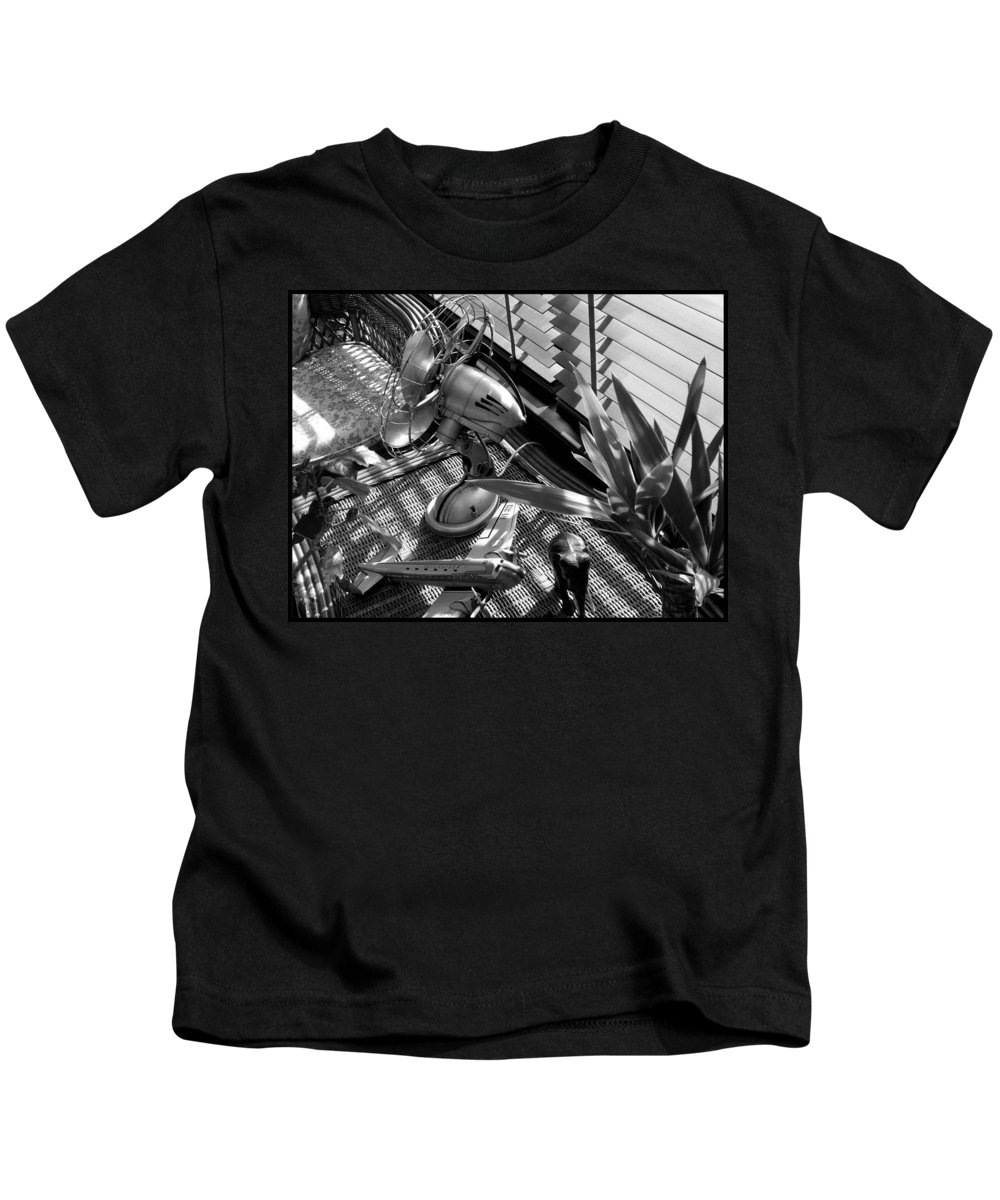 Still Life Kids T-Shirt featuring the photograph Suburban Safari by Charles Stuart
