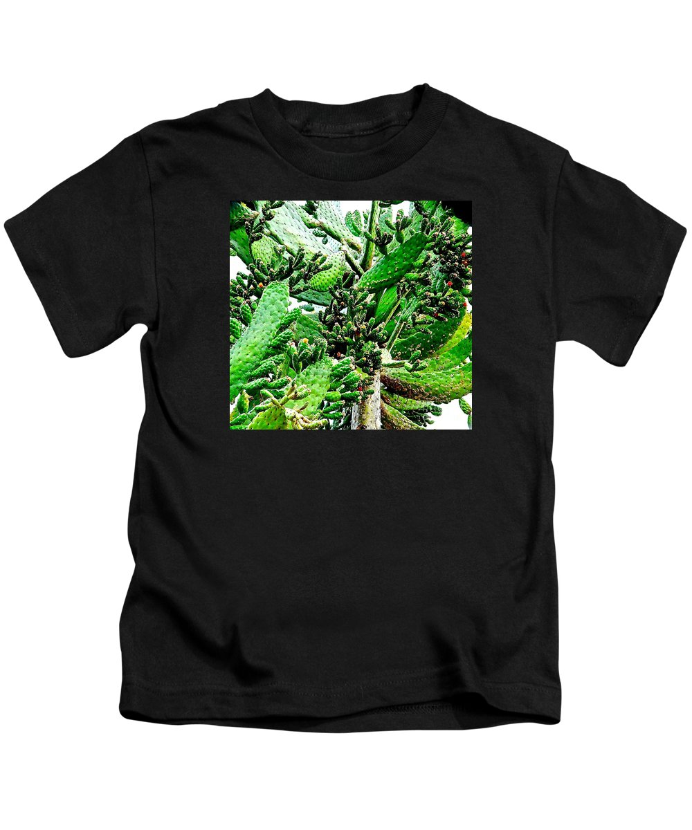 Cactus Kids T-Shirt featuring the photograph Such A Prick by Jacqueline Howe